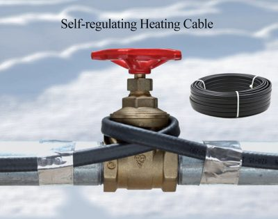 Fire pipe electric heating cable